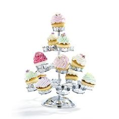 REVOLVING 21 CUP CAKE STAND perfect for cupcake parties
