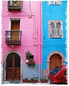 Bosa, Sardinia, Italia