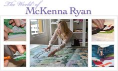 Easy Applique Art Quilt Patterns from McKenna Ryan and Pine Needles Designs. Tip, patterns and instructions.