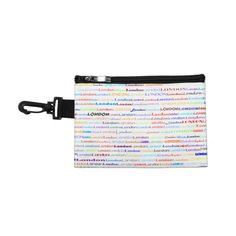 London Text Design II Clip On Accessory Bag $41.95