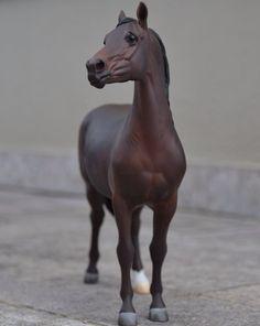 Drastic Custom Model Horse Resin Breyer Peter Stone Bay