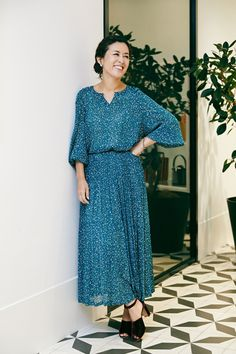 40s Fashion, Dresses With Sleeves, Long Sleeve, Style, Swag, Sleeve Dresses, Long Dress Patterns, Gowns With Sleeves, Outfits
