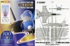 CF-18 Hornet National Demonstration Team 2009 - Trading Card