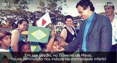 Minas cumpre metas da ONU e diminui índices  de mortalidade infantil. #AecioNeves #ParaMudarOBrasil http://120diascomaecio.tumblr.com/