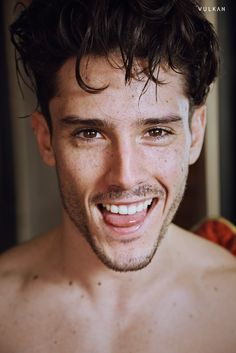 Diego Barrueco is all smiles for a portrait by photographer Olivier Rieu.