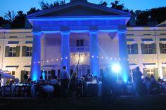 Morven Park.  A Portico Wedding Reception