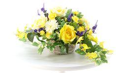 造花ドットコムが製作した光触媒造花とアートフラワーによるアレンジメント EURO AROMA ROSE