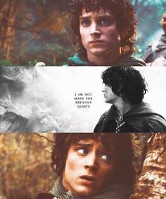 Yes, you were, Frodo. Thank you for your inspiration as we go on our own perilous quests.
