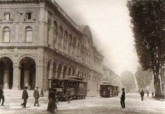Torino_Porta Nuova ed i tram storici di Torino
