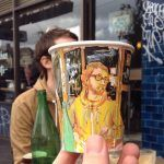 New Panoramic Coffee Cup Illustrations by Adrian Hogan