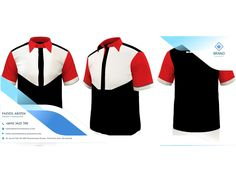 Best of Uniform Corporate Shirts Muslimah Pakaian Pejabat Corporate Shirts, Corporate Uniforms, The Office Shirts, Work Shirts, Made Design, Red And White Shirt, Red Shirt, Polo Shirt, Work Uniforms