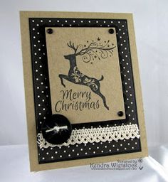 Kendra's Card Company: CAS Christmas...