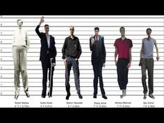 Tallest Man Ever - By Country - YouTube