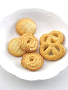 Danish Butter Cookie Assortment Food for American Girl by pippaloo, $8.50
