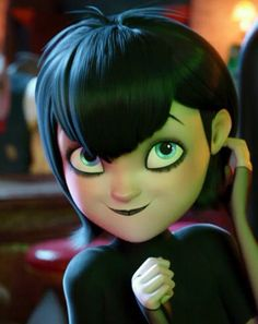 Mavis Dracula Loughran is the deuteragonist of the Hotel Transylvania movie series. She is the Vampire daughter of Count Dracula and Martha of Lubov Castle. Disney Pixar, Disney And Dreamworks, Disney Animation, Animation Film, Hotel Transylvania Characters, Hotel Transylvania Movie, Mavis Hotel Transilvania, Bd Art, Cartoon Profile Pictures