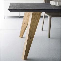 Tavolo con gambe in abete Nordic - ARREDACLICK