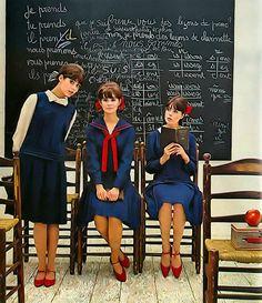 """Colleen Corby"" We  #WesternUniverse  #EuropeanFashion #schooluniform by #albpinczo"