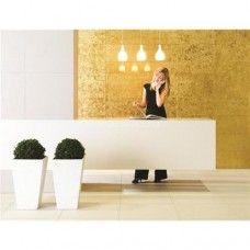 Original Style Gold Leaf clear glass tile GW-GLF6030 600x300mm Glassworks