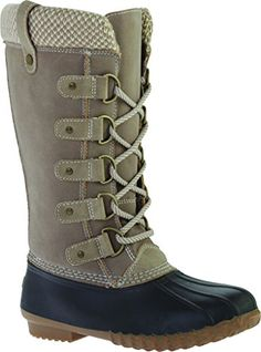 Portland Boot Company Womens Duck Duck Boot Tall SweaterTanUS 6 M -- Want to know more, click on the image.