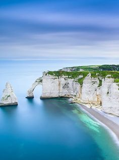 Cliffs of Etretat, France -- stunning enough for Monet to capture.  Of course I must go, too.