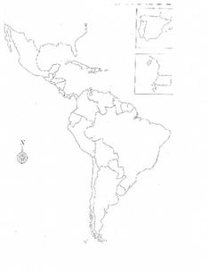 spain map coloring page - spanish speaking countries hispanic heritage month and