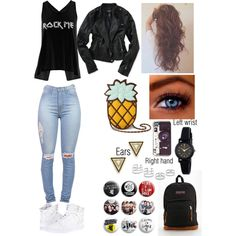 Badass outfits for school - Google Search | Things to wear | Pinterest | Outfits for school ...