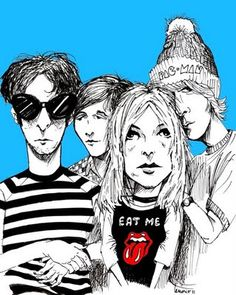 Sonic Youth  From Argentinian Rock Art Blog:  http://ccelrock.blogspot.com/