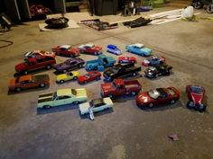 ERTL American Classic Diecast Collectible Muscle Car Lot