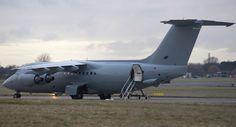 New RAF BAe-146-200QC - From Flight International - Feb 2013