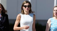 Queen Letizia of Spain Wears Hugo Boss to Depart for the U.K. http://www.vogue.com/article/queen-letizia-of-spain-hugo-boss-united-kingdom-state-visit-celebrity-royal-style?utm_campaign=crowdfire&utm_content=crowdfire&utm_medium=social&utm_source=pinterest