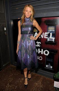 Blake Lively Evening Dress