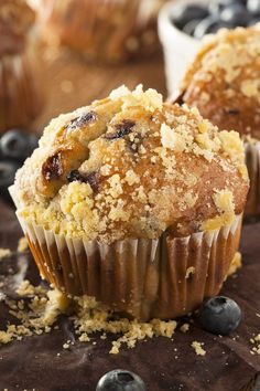 Weight Watchers Blueberry Streusel Muffins Recipe - 6 Ww Points
