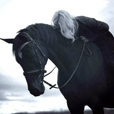what if clancy stole one of the bishops horses? Yennefer Of Vengerberg, Geralt Of Rivia, Ciri, Throne Of Glass, Story Inspiration, Character Inspiration, Sombra Lunar, Elf Rogue, Eddard Stark