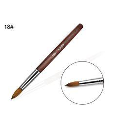 ACRYLIC Brush Nail Art Supply – SAINTCHiC Acrylic Nail Brush, Acrylic Brushes, Nail Art Brushes, Nail Manicure, Diy Nails, Gel Nail, Nail Art Supplies, Nail Art Tools, Nail Drawing