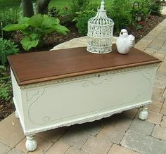 23 Best Vintage Painted hope chests ideas images | Painted
