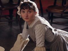 """Extraordinary!""   ""Right away Ma'am; I'll do it in a minute, Ma'am!""   Minnie! (Lark Rise to Candleford)"