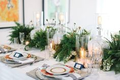 Alice Hu Photography/Fantasy Floral Designs Fern Wedding Details   SouthBound Bride #fern #weddingtrends