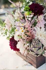 rustic look flower arrangement.  #weddingflowers,