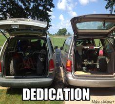 Dedication, atv, quads, funny, humor, chicks that ride, 4 wheelers & mini vans