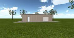 3D #architecture via @themuellerinc http://ift.tt/2oEWEXW #barn #workshop #greenhouse #garage #DIY