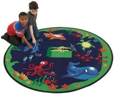 Sea Hunt by Flagship Carpet - 8' Round Educational Rug (Flagship FCSH8RD) by Flagship Carpets. $415.85. Flagship Carpets SH These educational and playtime rugs will create an enchanting environment for any child. Made of 100% nylon, these rugs are affordable and comfortable. This colorful educational rug not only creates a great environment to learn, but it also has great learning tools. -100% nylon. -With these rug children will have fun learning. -Machine made in USA. Features...