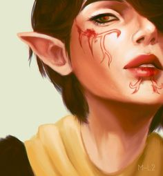 Merrill (Dragon Age) by m-l2.deviantart.com on @DeviantArt