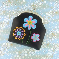 LAVISHY designs & wholesale original & beautiful embroidered bags, wallets, pouches & accessories for gift shop/boutique buyers in USA, Canada & worldwide. Computerized Embroidery Machine, Vegan Gifts, Embroidery Motifs, Embroidered Bag, Makeup Pouch, Wholesale Handbags, Small Wallet, Gift Store, Pouch Bag