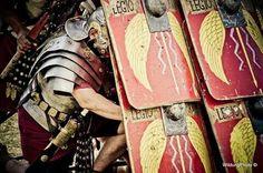 A wall of Roman scutum