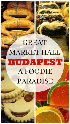 The Great Market Hall is the oldest and largest indoor market in Budapest, Hungary. Stop by here if you want to try Hungarian food and find paprika, salamis and more. This is a true foodie paradise.