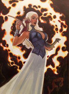 Daenerys by Adam Hughes
