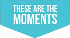 Silhouette Online Store: these are the moments tab