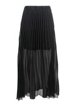 Black Swan Maxi Skirt