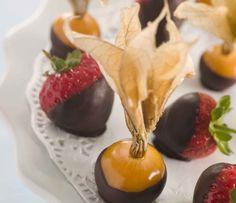 Chocolate/Suklaata: chocolate dipp/helppo suklaadippi