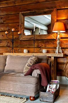 FINN Eiendom - Fritidsbolig til salgs Decoration, Teak, Shabby Chic, Mountain, Real Estate, Cabin, Couch, Rustic, Furniture